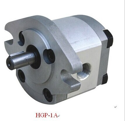 250bar Pressure Hydraulic Gear Pump HGP-1A-F5R Clockwise Turnning