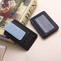 New men of fashion wallet Clip Wallet clip magnetic ultra-thin pocket clamp case of credit card wallet little originality Beauty