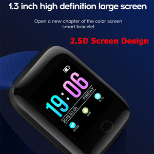 Image 2 - موضة الرياضة ساعة ذكية الرجال النساء ل أندرويد IOS Smartwatch جهاز تعقب للياقة البدنية مقاوم للماء ساعة ذكية Smartwach جديد ساعة اليد