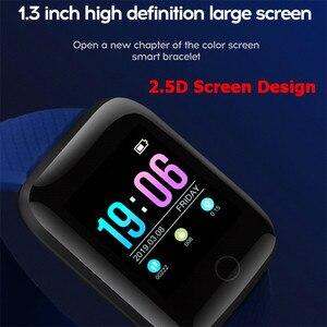 Image 2 - Mode Sport Smart Uhr Männer Frauen Für Android IOS Smartwatch Fitness Tracker Wasserdichte Intelligente Uhr Smartwach Neue Armbanduhr