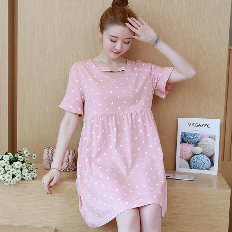 New summer maternity clothing maternity dresses pregnancy women dresses high quality dress maternity summer clothing 1602