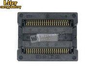 Sop44 so44 soic44 OTS-44-1.27-03 enplas ic 테스트 번인 소켓 프로그래밍 어댑터 13.3mm 너비 1.27mm 피치