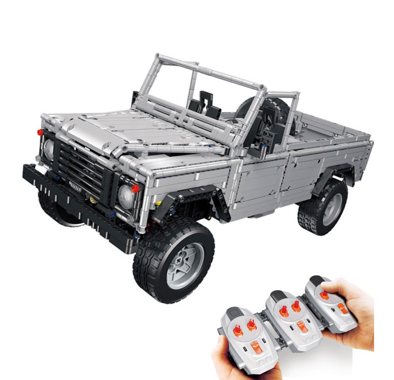 <font><b>23003</b></font> Technic Creative MOC RC Wild Off-Road Vehicles Remote Control Building Block Bricks Toys 3643Pcs Compatible With Bela image