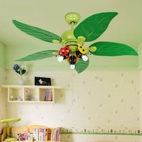 Chandelier Nursery Modern Ceiling Lamps Chandeliers Bedroom Children'S Luster Fan Led Lighting For Kids Enfant Light