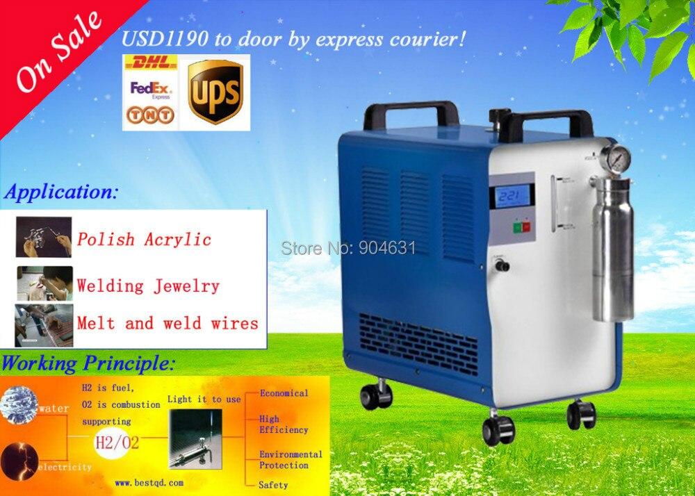 2018 offre spéciale livraison gratuite AC220V GB Plug BT-200HHO soudeuse goujon pour bijoux 200L/heure génération de gaz à des prix compétitifs