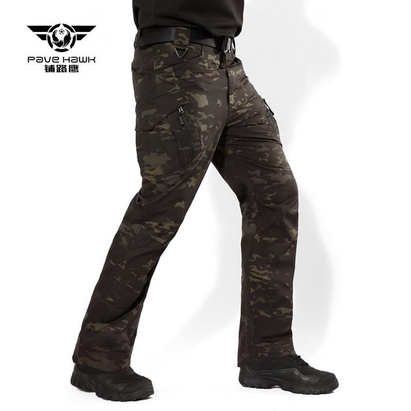 Beige Army Camouflage Unisex Hiking Bird Watching Stretch Walking Fun Leggings