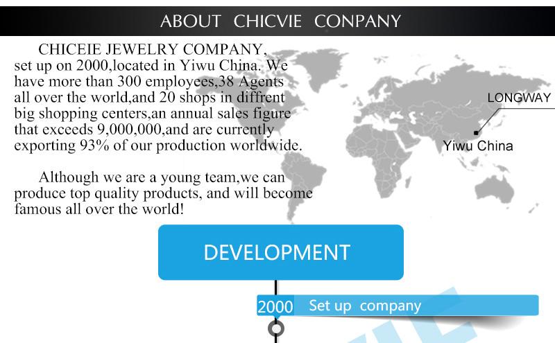 CHICVIE Black Crystal Chain Link Bracelets For Women Female Charm Custom Bracelets & Bangles DIY Silver Color Jewelry SBR160014 30