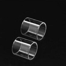 2 pcs Clrane Substituição de tubo De Vidro pirex para Vaporesso Alvo Pro Clearomizer vape tanque de vidro
