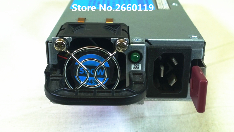 Server power supply for 380G7 180G6 DPS-500AB-2 A 637654-B21 633680-001 638549-001 500W fully tested