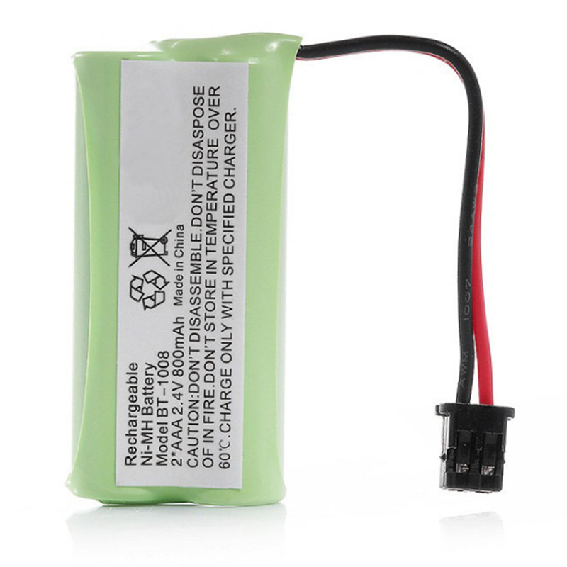 2.4v 800mAH Ni-MH Rechargeable Battery For Uniden BT-1008 BT-1016 BT-1021 BT-1025 BT1021 BT1025 CPH-515B