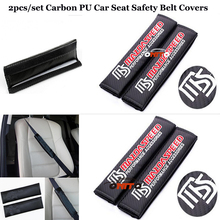 2pcs/set car seat belts padding covers Auto safety belts Car