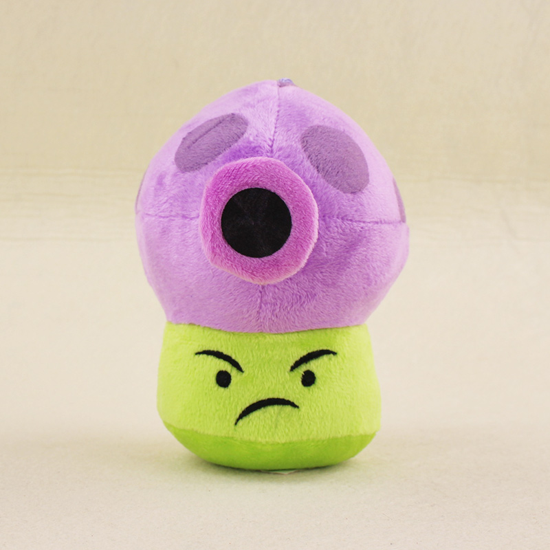 15cm Plants VS Zombies Soft Plush Toy Doll PVZ Fume-shroom Plush Sucker Pendant Stuffed Doll