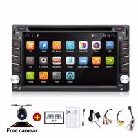 Universal 2 Din Android 4 2 Car DVD Player GPS Wifi Bluetooth Radio 1 2GB CPU