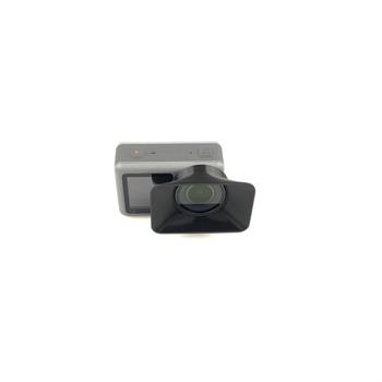 Małe anti-glare kaptur osłona obiektywu osłona przeciwsłoneczna dla DJI OSMO kamery akcji akcesoria do kamer sportowych tanie i dobre opinie Akcesoria Zestawy kardanowe OSMO Action SKSKTU-01-163 Pakiet 1 SOSOYO