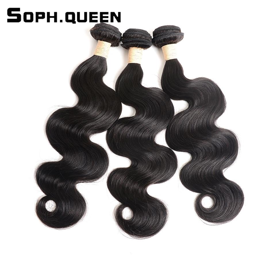 Soph Queen Hair Products Brazilian Virgin Hair Weave Bundles Body Wave Human Hair Bundles Can Buy