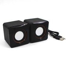 Mini USB Wired Speaker Music Player Amplifier Loudspeaker Stereo Sound Box for Computer Desktop PC Notebook
