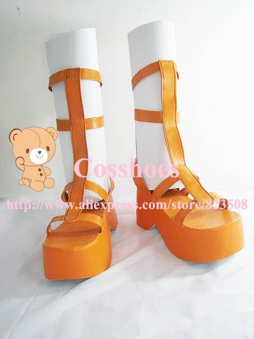 Specialtillverkade 3cm häl Nami skor från One Piece - Maskeradkläder och utklädnad