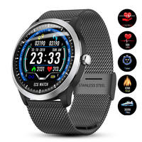 PPG ECG Smart watch Men Electrocardiograph Waterproof Smart Bracelet ecg heart rate monitor blood pressure smartwatch