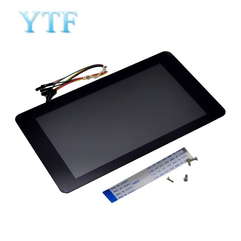 Raspberry Pi 2 3 B B Touchscreen 7 inch LCD Touch Screen Display Module 10 point