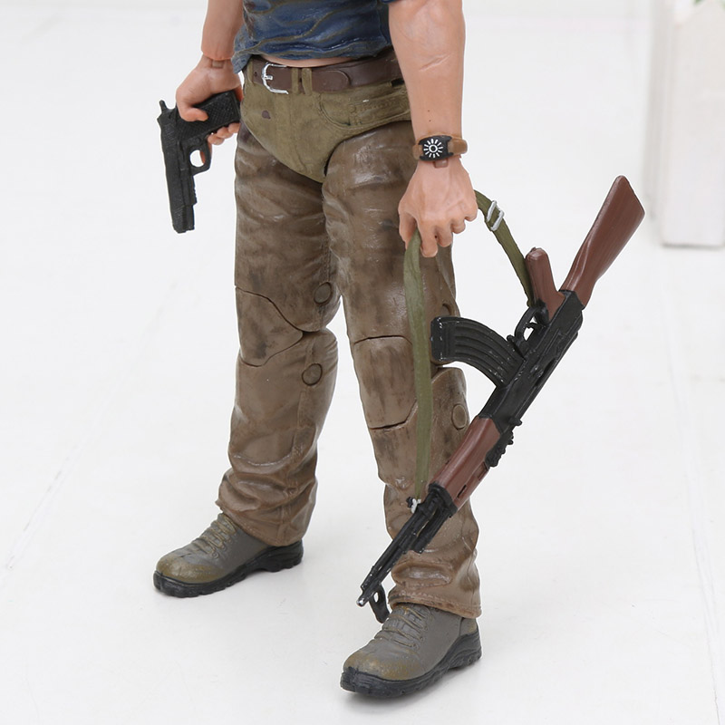 Image 4 - 15cm NECA Uncharted 4 A thief's End Figures Nathan Darke Ultimate Edition PVC Action Figure Collectible Model Toy For Gifts-in Action & Toy Figures from Toys & Hobbies