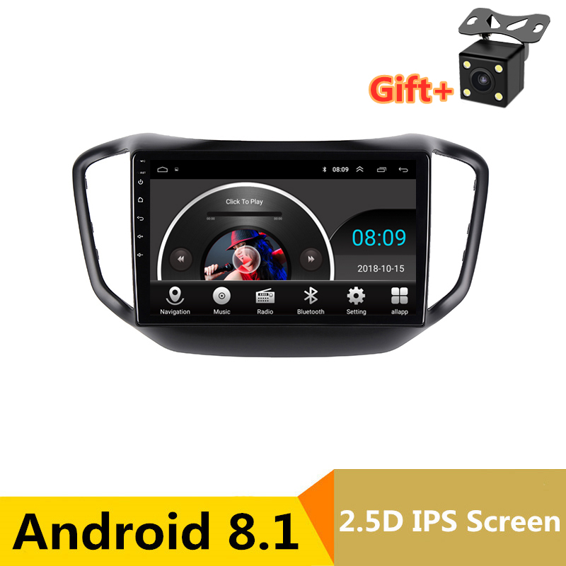 "10"" 2.5D IPS Android 8.1 Car DVD Multimedia Player GPS for Chery Tiggo 5 2014 2015 2016 audio car radio stereo navigation"