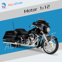 1:12 Scale New Harley Street Glide Special Metal Diecast Model Motorcycle Motorbike Racing Cars Toys Boys Vehicle Collection