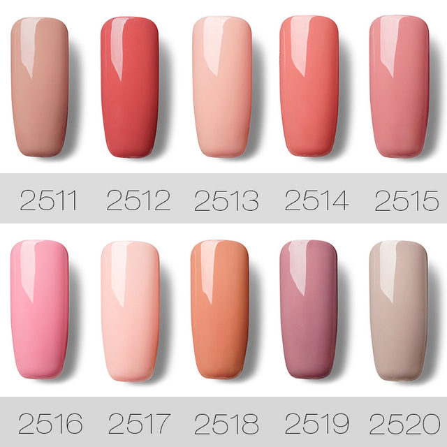 How To Do Coloured Gel Nail Extensions