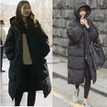 2016 Movie Star Luxury Women and Men Winter Thick Plus Size Coat Black Loose Big Cotton Warm Long Couple Long Coat Outwear 4XL