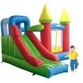DHL БЕСПЛАТНАЯ ДОСТАВКА Жилых дешевые надувные combo слайд надувной замок прыжки вышибала для детей