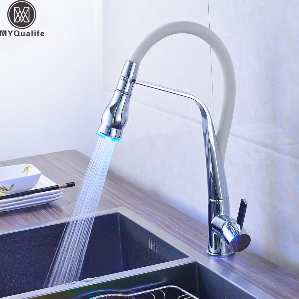 Aliexpress.com : Buy 360 Rotate LED Light Kitchen Faucet