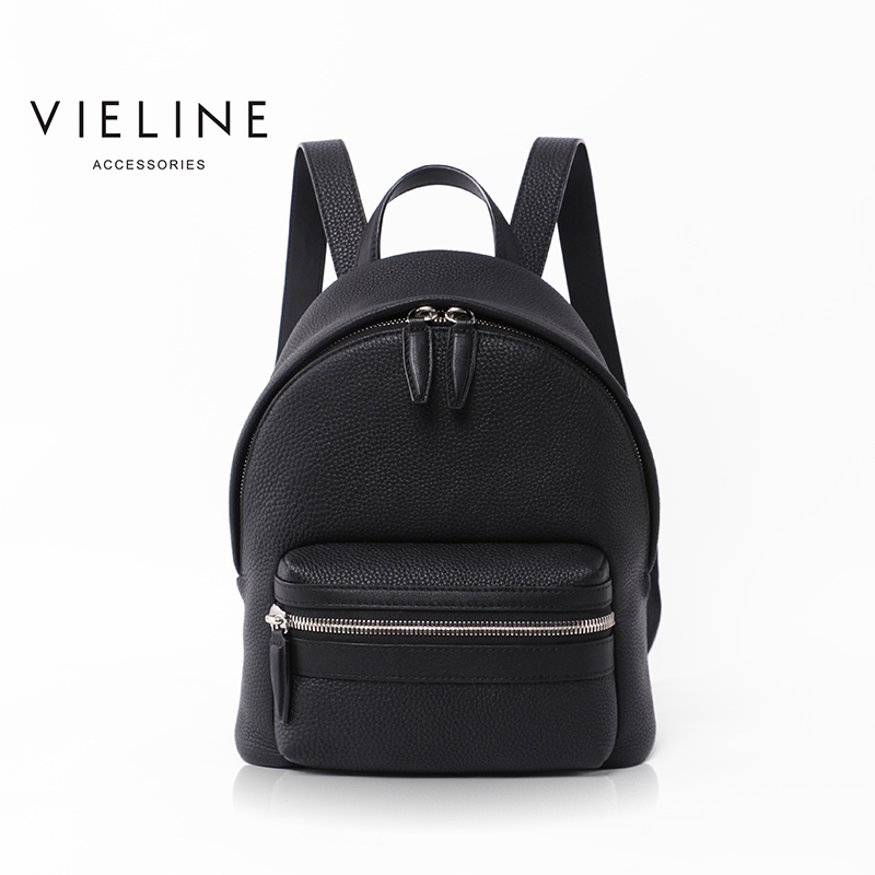 Vieline, New Brand Women Genuine Leather Backpack Lady Real  Leather Backpack, Leather Schoolbag.free Shipping