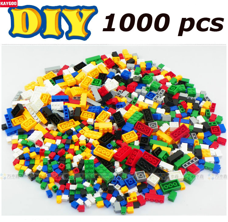 Kaygoo Toy for Kid Woma Building Blocks DIY Construction Sets 1000pcs of Bricks Assembling Christmas Gifts Best Kids Xmas Gifts