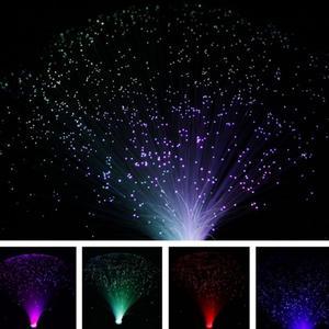 Image 2 - متعدد الألوان LED الألياف البصرية ضوء الليل مصباح عطلة عيد الميلاد لوازم ديكورات زفاف للمنزل مصابيح إضاءة الليل