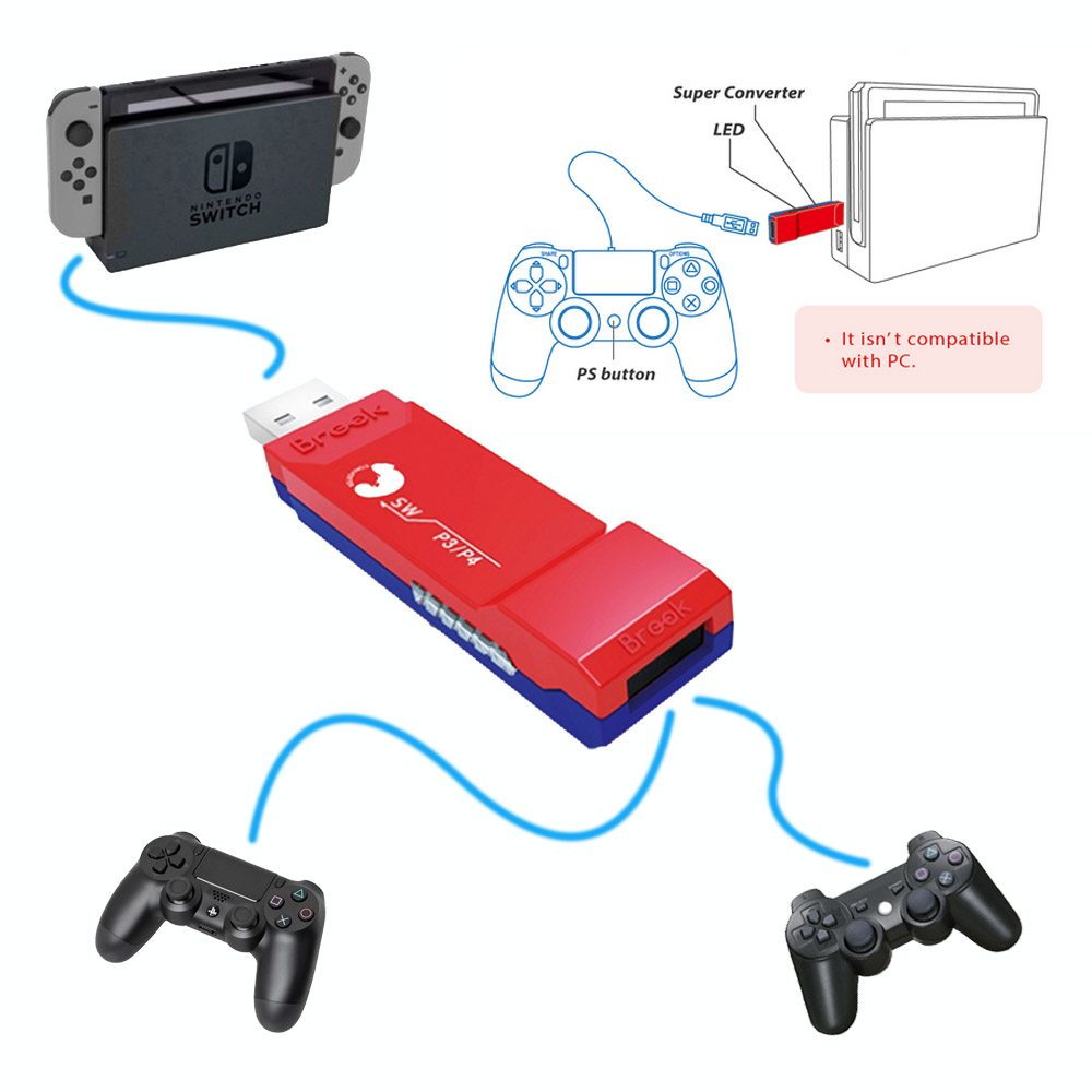 GAM3GEAR G 3 Brook Super Controller Converter Adapter for PS4 for Playstation 4 for PS3 Fightstick
