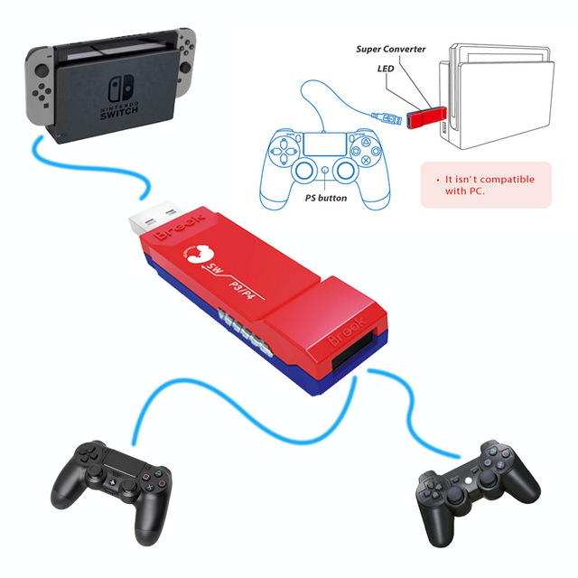Switch to ps4 adapter