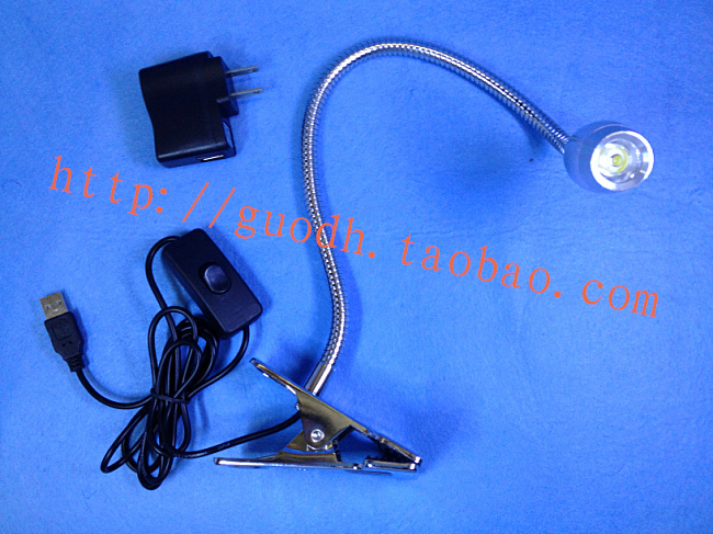 3W Table Night Reading Studying Flexible Led Light Clamp Type 220V
