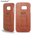 Natural Bamboo Wood Case For Samsung Galaxy Note 5 4 3 Wooden Hard Back Cover for Galaxy S7 S5 S6 S7 Edge Plus Protective Covers