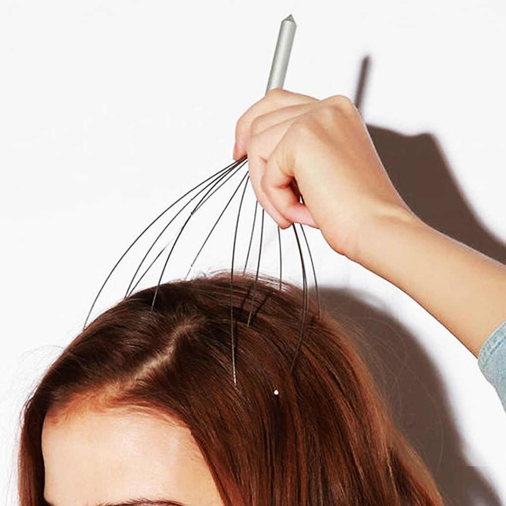 Venda quente cabeça do couro cabeludo pescoço equipamentos de liberação de estresse relaxar massagem corpo massageador cabeça massagem ferramentas