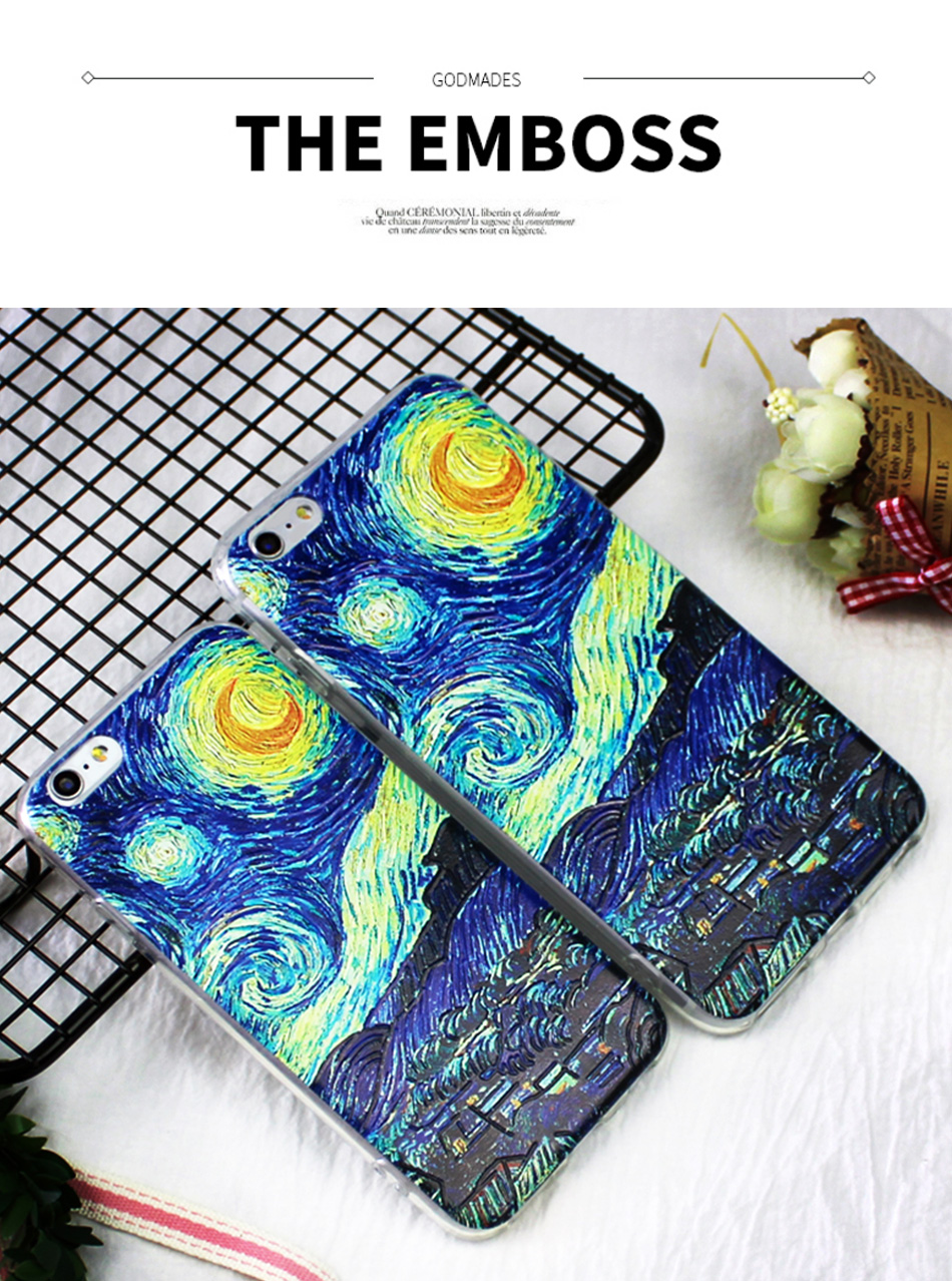 !ACCEZZ TPU Soft Cartoon 3D Protective Back Cover For Apple iphone 66s78 Plus Case Creative Patterned Phone Shell Funda Coque (1)