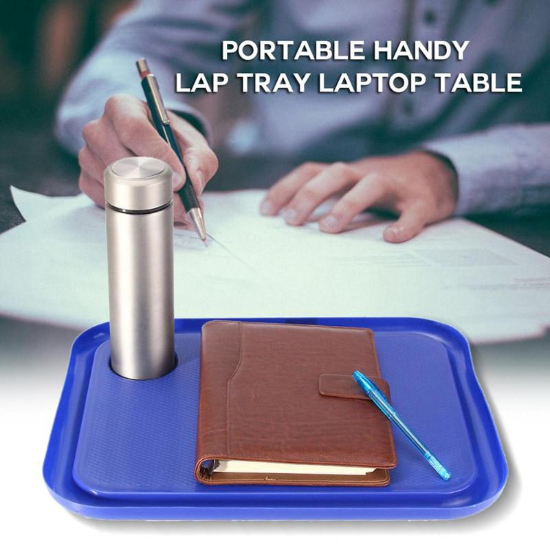Portable Laptop Desk Tray Creative Outdoor Learning Desk Lazy Tables New Laptop Stand Holder For Bed Sofa 42x33cm (China)