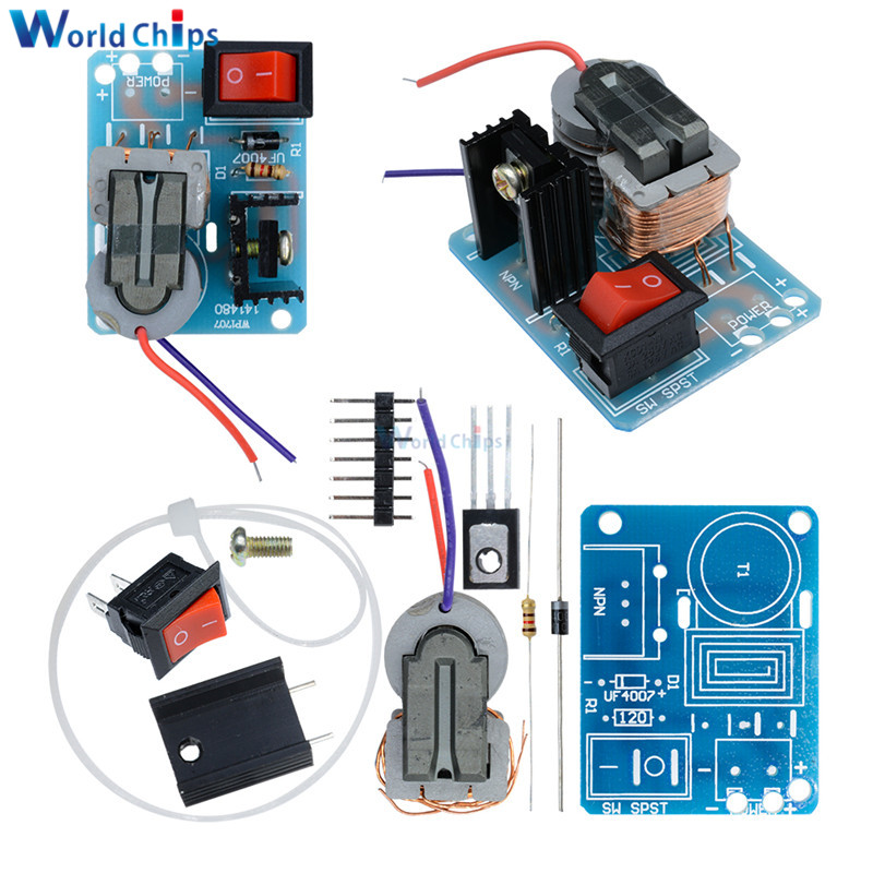 Aggressive Diy Kits 15kv 15000v Dc High Voltage Pressure Generator Igniter Kit Step-up Boost Module Coil High Frequency Transformer Driver Beautiful In Colour Integrated Circuits
