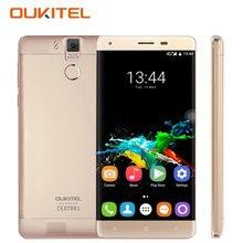 Oukitel K6000 Pro Android 6.0 смартфон 5.5 дюймов Octa core 3 ГБ Оперативная память 32 ГБ Встроенная память отпечатков пальцев 5MP + 13.0MP 6000 мАч разблокирована сотовых телефонов
