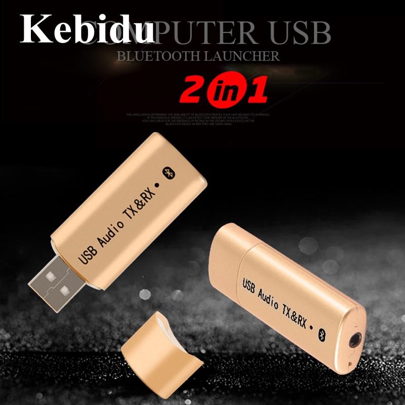 Tragbares Audio & Video Kebidu Wireless Usb Bluetooth 4,2 Sender Empfänger Transmiter Adapter Audio Stereo 3,5mm Aux Für Tv Computer Kopfhörer Unterhaltungselektronik