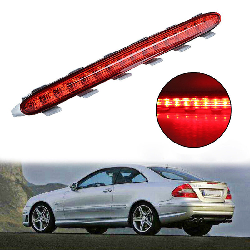Direct Replacement Car Auto Rear Auxiliary Stop Tail Light Red Third Brake Stop Turn Signal LED