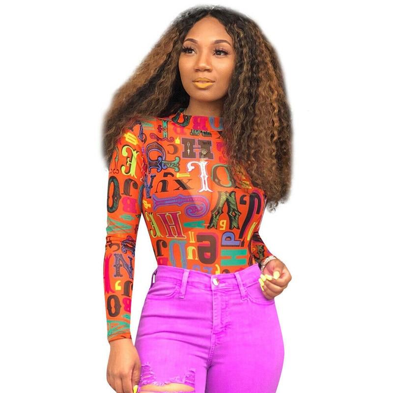 Women Body suit Leotard Mesh Sheer Long Sleeve Top Jumpsuit See-Through Vintage Romper Shirts Jumpsuits Playsuits Sunsuits Hot