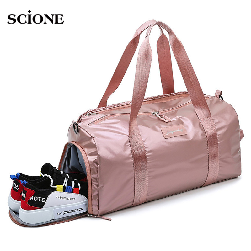 Yoga Mat Bag Carrier Aolvo Large Cross Body Sling Mat Carrier Bag Fast Drying Compact Light Large Yoga Tote Bag Polyester Outdoor Weekender Travel Gym Bag For Women Men Lady