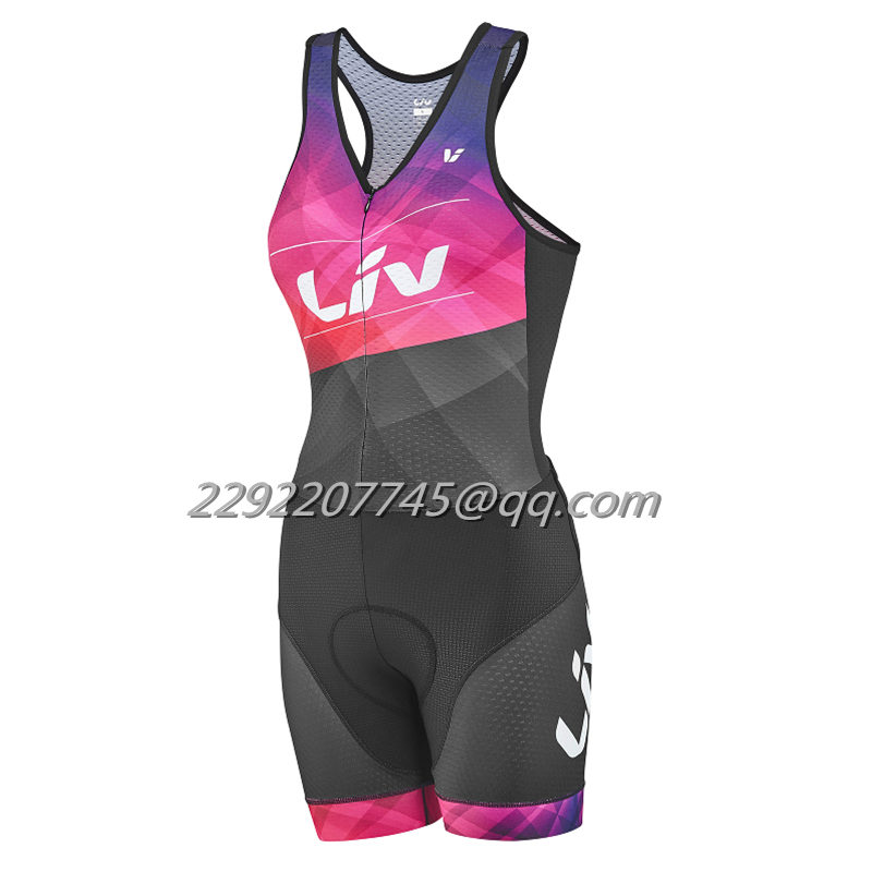 2018 women LIV sexy skinsuit kit Lycra custom cycling clothing Equipment maillot Cycling Sets body suit team Triathlon ciclismo2018 women LIV sexy skinsuit kit Lycra custom cycling clothing Equipment maillot Cycling Sets body suit team Triathlon ciclismo