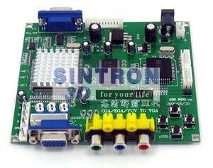 CGA / EGA / YUV TO VGA-konverter et VGA-output arkadespil