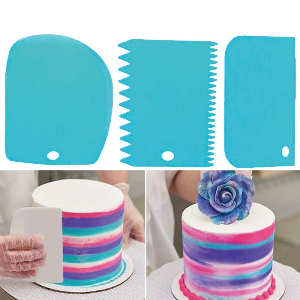 3Pcs-set-Plastic-Dough-Knife-Icing-Fondant-Scraper-Jagged-Edge-Plain-Smooth-Cake-Paddle-Cake-Spatulas