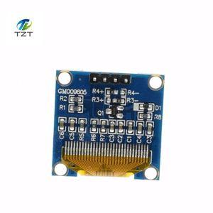 Image 4 - 10Pcsสีขาวสีฟ้า 0.96 นิ้ว 128X64 โมดูลแสดงผลOLEDสีเหลืองBlue OLEDแสดงผลโมดูลสำหรับArduino 0.96 IIC SPI Communicate